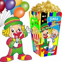 Kit Imprimible Circo Payasitos - Decoraciones Cajitas Fiesta