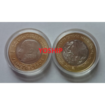 Moneda 20 Pesos Morelos Bicentenario 2015 Nueva Encapsulada