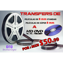 Digitalización Hd De Películas De Cine 8mm Y Súper 8mm A Dvd