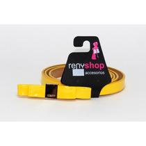 Cinturón Dama Moño Amarillo Cu15