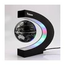 Globos Terraqueos Magneticos Giratorios Con Luces Led