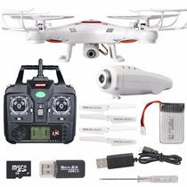 Drone X5c-1 Syma Camara Hd Foto,video Gratis 4 Aspas Mas 4gb