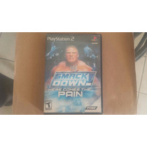 Smack Down Here Comes The Pain Ps2 Buena Cond Raro Barato+