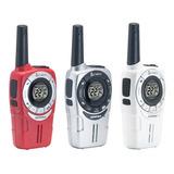 Kit 3 Radios Cobra Microtalk 40km* 25 Millas Acxt360 Soho