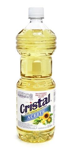 Cristal Aceite Vegetal Botella 1 Lt