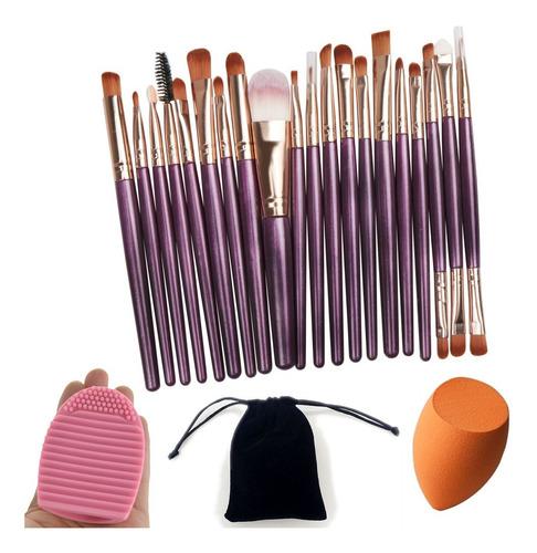 Set De Brochas Para Maquillaje Profesional Beauty Creations