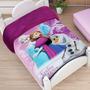Cobertor Para Bebes Providencia Frozen Reverso Borrega