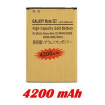 Bateria P/ Samsung Galaxy Note 3 Larga Duracion 4200mah