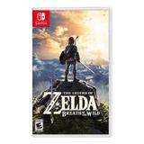 Juegos Nintendo Switch Zelda Breath Of The Wild Nuevo /u