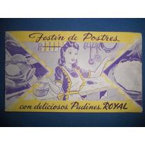Recetario Festín De Postres Con Deliciosos Pudines Royal