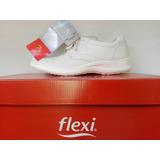 Zapatos Marca Flexi Talla 6.5 Hombre Color Blanco Nuevos