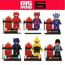 Coleccion De Figuras Tipo Lego De Big Hero 6 (baymax)