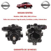 Bomba Licuadora Direccion Hidraulica Nissan Sentra 2002