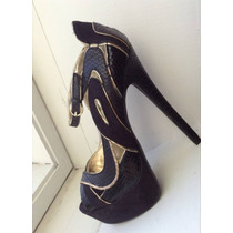 Zapatillas Negras, Bebe Original 100% Talla24, Envio Gratis