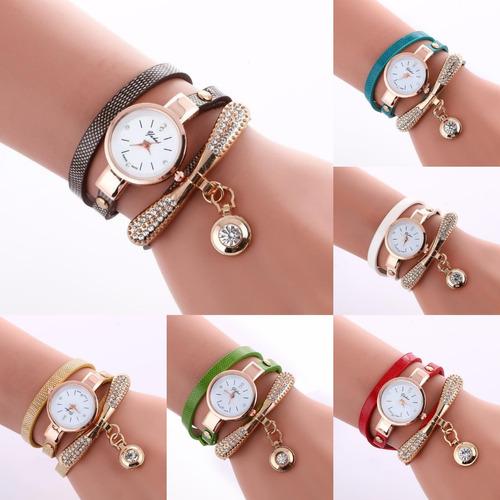 be15cd381816 Reloj Pulsera Dije Diamante Moda Casual Mayoreo Proveedor