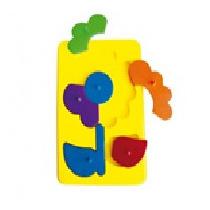 Resaque De Plastico Flor Material Didactico