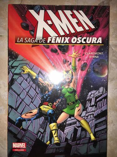 Marvel Comics Deluxe X-men La Saga De Fenix Oscura