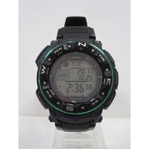 Reloj Casio Protrek Prw2500-1b Solar Atómico Triple Sensor