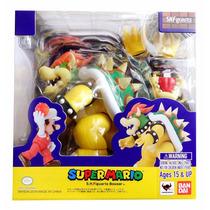 Bandai S.h. Figuarts Super Mario Bros Bowser Kupa Dam