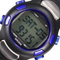 Reloj Monitor De Ritmo Cardíaco Contador Calorías, Podometro