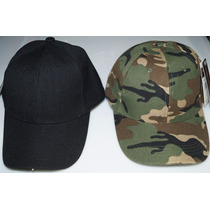 10 Gorra Militar Tactica Negra Verde Camuflaje Caki Azul