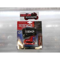 Candado De Disco Sxp Para Motocicleta Perno 5.5mm Color Rojo