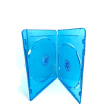 Estuche Doble Para Disco Blue Ray 7mm 100 Pzas
