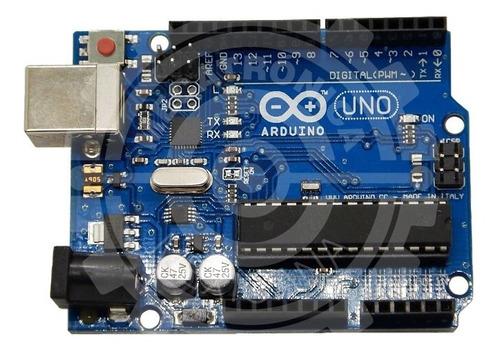 Arduino Uno R3 Atmega16u2 Con Cable Mercadoenvios Full
