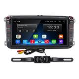 Estereo Android Vw Jetta Vento Gol Tiguan Golf +cámara