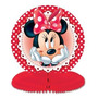 3 Minnie Mouse Honeycomb Centros De Mesa