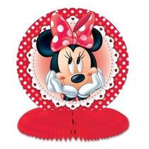 3 Minnie Mouse Honeycomb Centros De Mesa