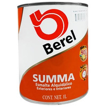Pintura Esmalte. Summa 623-4 Bco. Refri (1 Lt) Berel.