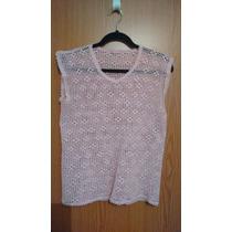 Blusa Tejida Crochet, A Mano, Gancho, Artesanal