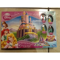 Juego De Disney Princesas Castillo Mágico Pop Up Magic