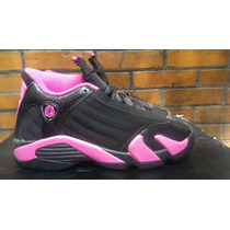Nike Air Jordan Xiv14desert Pink 5yus 23mx Kobelebron