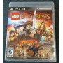 Lego The Lord Of The Rings Para Ps3 Usado