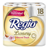 Papel Higiénico Regio Luxury Almond Touch 18 Rollos