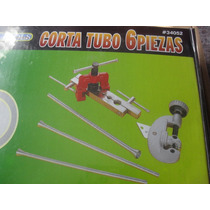 Kit Corta Tubo De Cobre O Aluminio 6 Piezas Con Dobladores
