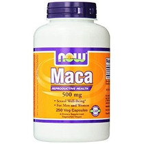 Now Foods Maca 500mg 250 Cápsulas (embalaje Puede Variar)
