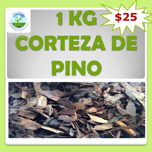 1kg corteza de pino sustrato decoraci n jard n 25 cfrq8 - Corteza de pino ...