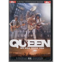 Dvd Queen We Will Rock You 24 Canciones En Concierto!
