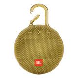 Bocina Jbl Clip 3 Portátil Con Bluetooth Mustard Yellow