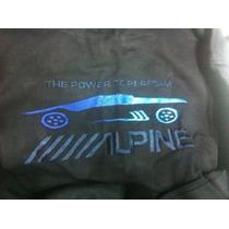 Alpine Amplificadores Car Audio Chamarra Jacket