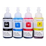 4 Tintas Para Epson T664 L120 L310 L380 L395 L495 L575 L805
