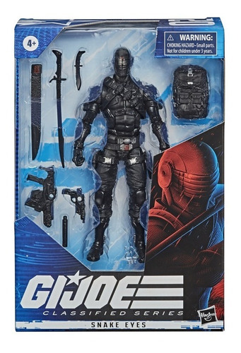 G.i. Joe Classified Series - Figura Snake Eyes 02