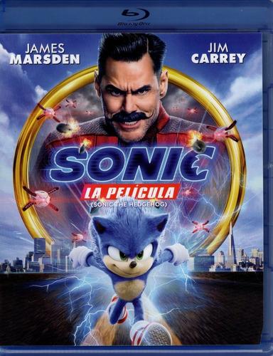 Sonic La Pelicula Jim Carrey Blu-ray