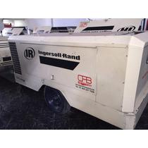 Compresor Ingersoll Rand 375pcm Motor Deutz Trabajando 1998