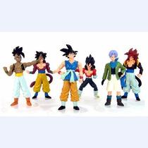 Figura Triline Set Of 6 Pcs Dragonball Z Goku Vegeta Uub
