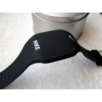 Excelente Reloj Nike Touch Caucho Negro Subasta 1 Peso
