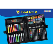 Paint Box - Juego 86 Piezas De Arte Y Artesanía Creatividad